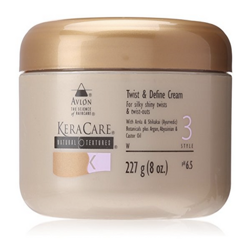 Avlon Keracare Natural Textures Twist and Define Cream 8 oz