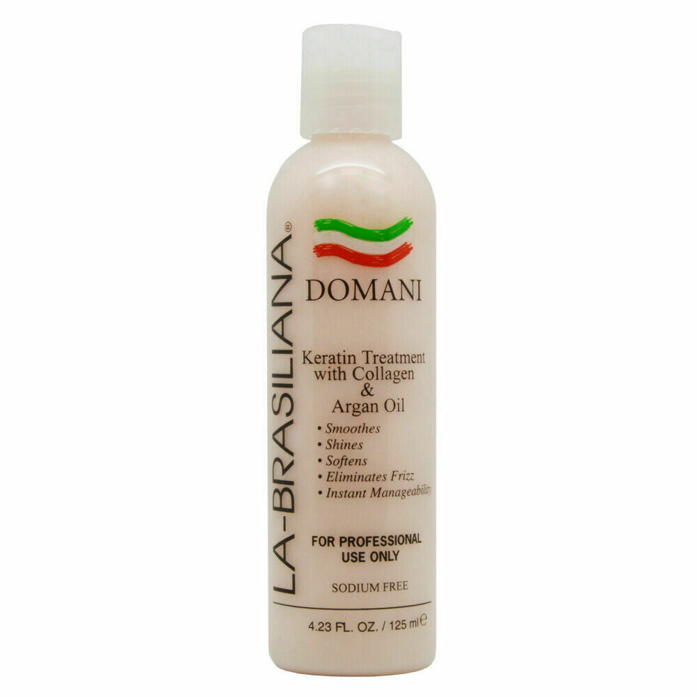 La-Brasiliana Domani Keratin Treatment w. Collagen & Argan Oil 4.23oz
