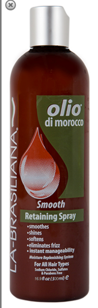 La-Brasiliana Olio di Morocco Smooth Retaining Spray 16.9oz