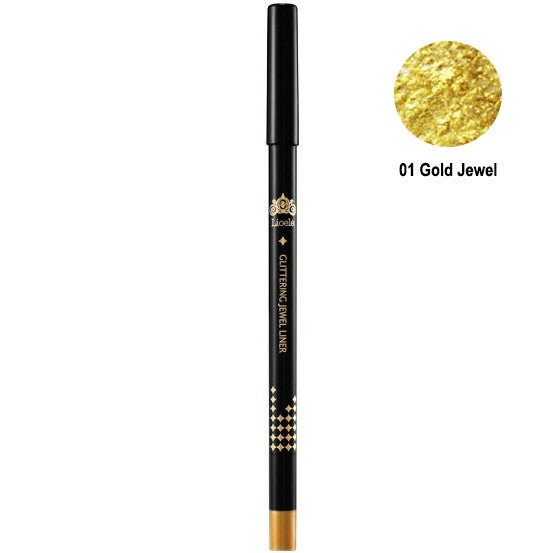 LIOELE Glittering Jewel Eyeliner Premium Auto Pencil 1.2g, Select