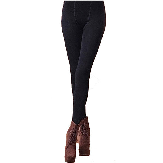 Women Winter Sexy Leggings Cover the Half of Foot