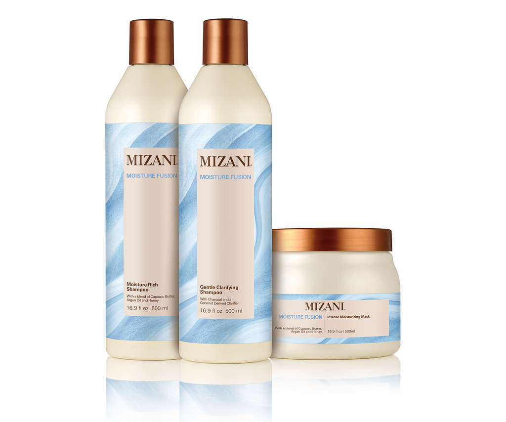 Mizani Moisture Fusion Gentle Shampoo 16.9ozMoisture Rich Shampoo and Mask Set