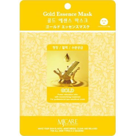 MJ CARE Gold Essence Sheet Mask 23g x 10pcs