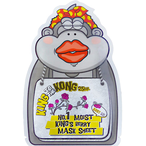 MIZON King to The Kong Moist King's Berry Mask Sheet