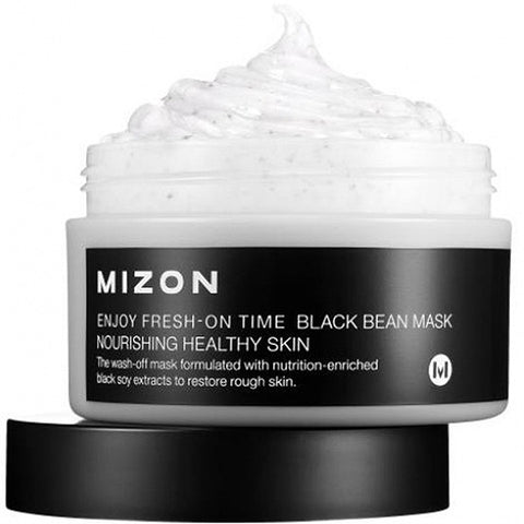 MIZON Enjoy Fresh On Time - Black Bean Mask 100ml