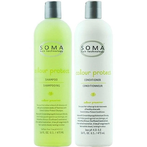 SOMA Hair Technology Colour Protect Shampoo & Conditioner Set, Select