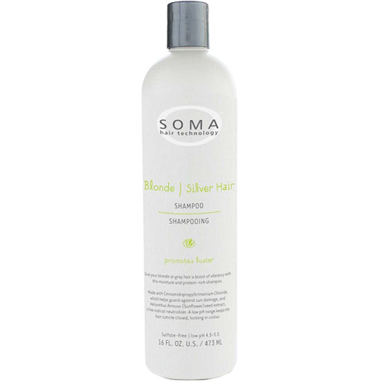 SOMA Hair Technology Blonde-Silver Hair  Shampoo 16fl.oz