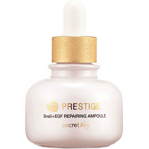SECRET KEY Prestige Snail+EGF Repairing Ampoule 30ml