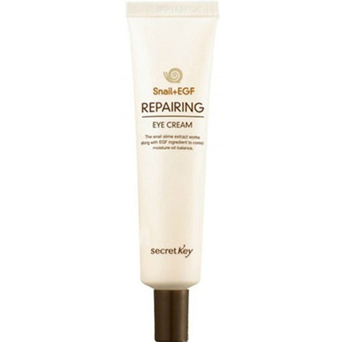 SECRET KEY Snail+EGF Repairing Eye Cream Tube Type 30g