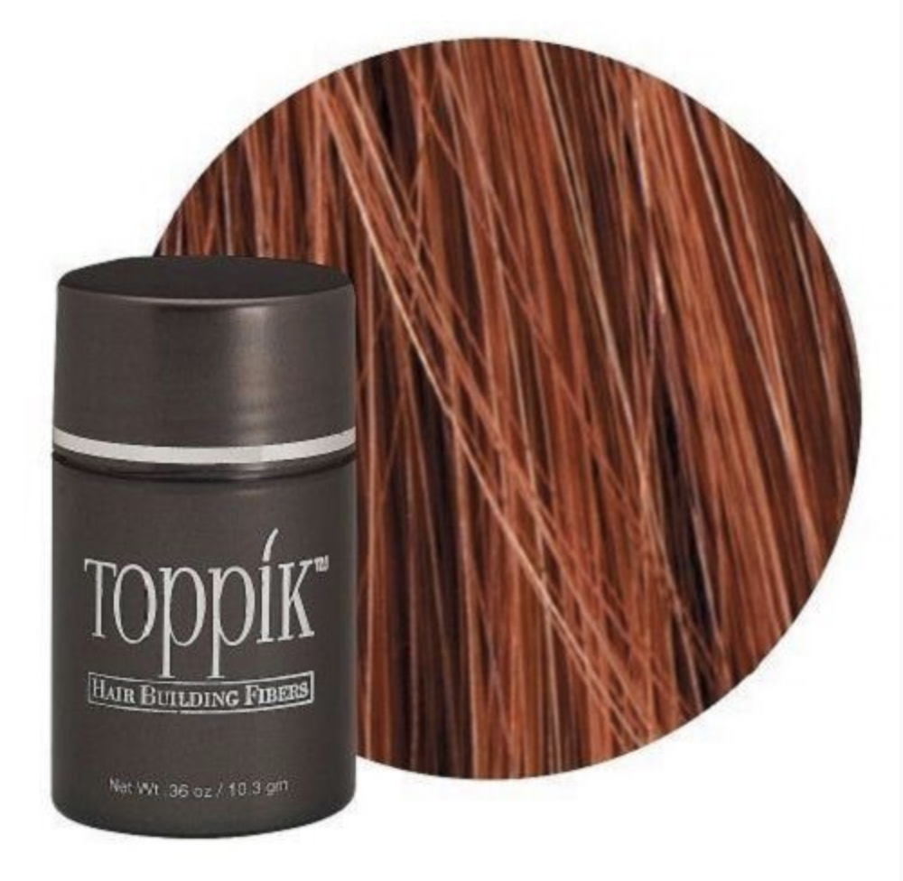 TOPPIK Hair Building Fibers, Auburn, 0.36oz/10.3g