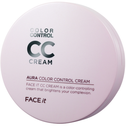 THE FACE SHOP Face It Aura Color Control CC Cream, Select
