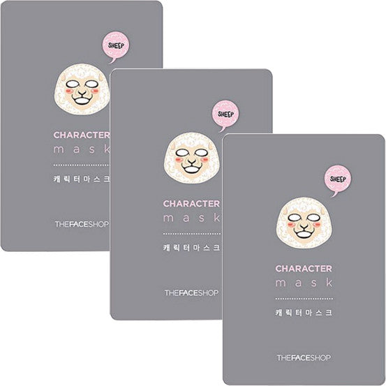 THE FACE SHOP Character Mask Sheep 23g, Select