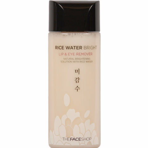 THE FACE SHOP Rice Water Bright Lip & Eye Remover 120ml