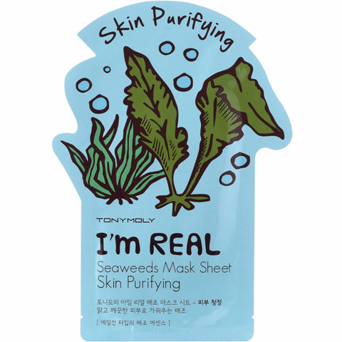 TONYMOLY I'm Real Seaweeds Mask Sheet 21g, Select