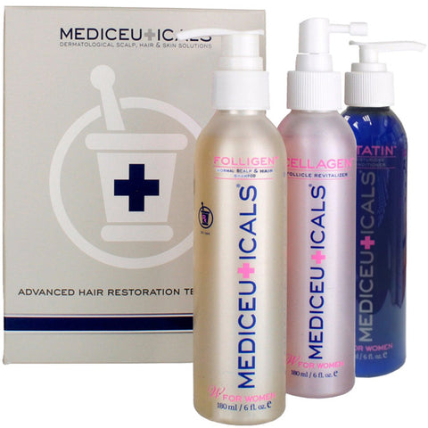 THERAPRO Meduceuticals Normal Scalp & Hair Therapy Kit for Women