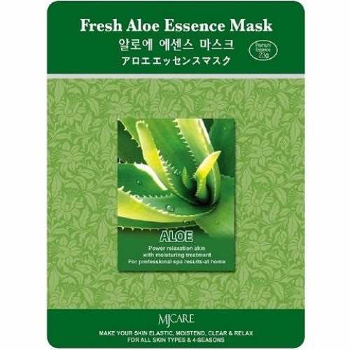 MJ CARE Fresh Aloe Essential Sheet Mask 23g x 10pcs