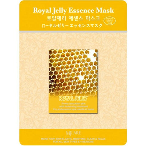 MJ CARE Royal Jelly Essence Sheet Mask 23g x 10pcs