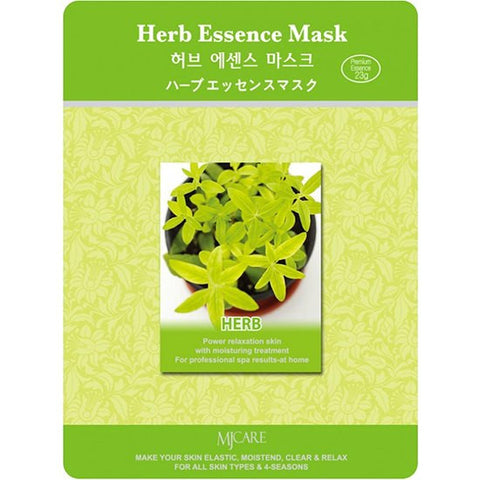 MJ CARE Herb Essence Sheet Mask 23g x 10pcs