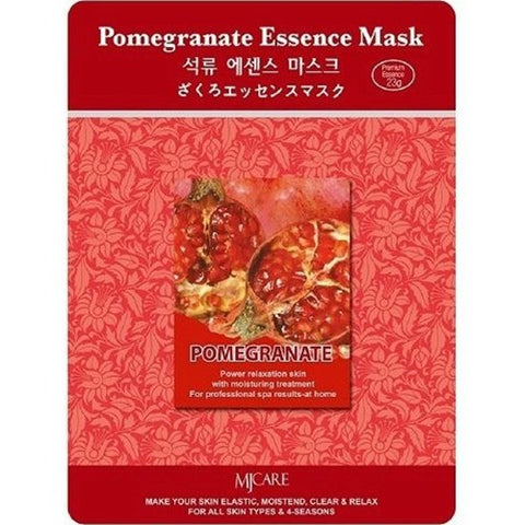 MJ CARE Pomegranate Essential Sheet Mask 23g x 10pcs