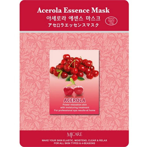 MJ CARE Acerola Essence Sheet Mask 23g x 10pcs