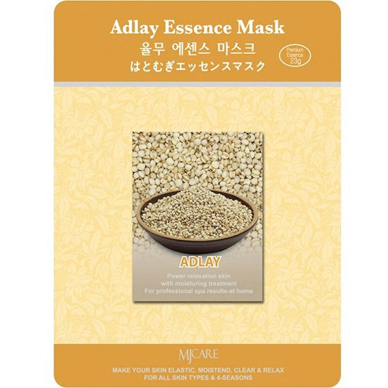 MJ CARE Adlay Essence Sheet Mask 23g x 10pcs
