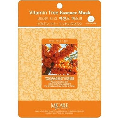 MJ CARE Vitamin Tree Essential Sheet Mask 23g x 10pcs