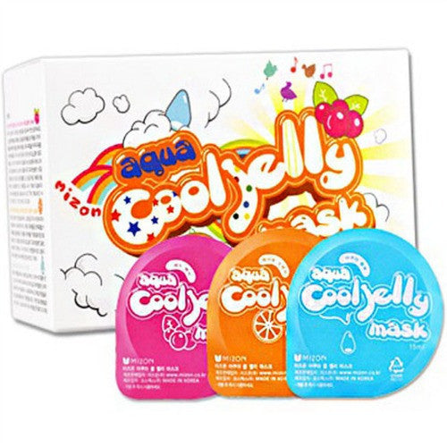 MIZON Aqua Cool Jelly Mask Packs 3 x 2pcs