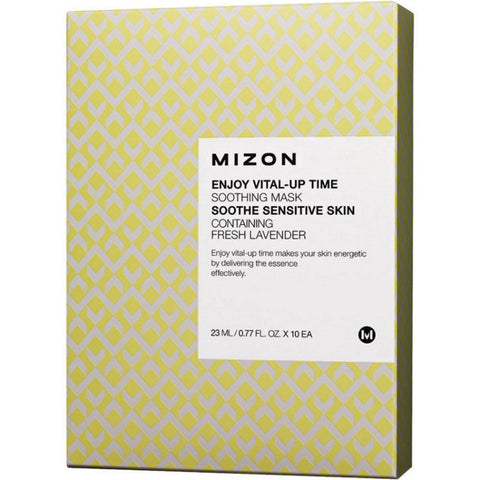 MIZON Enjoy Vital-Up Time soothing Mask 23ml x 10pcs