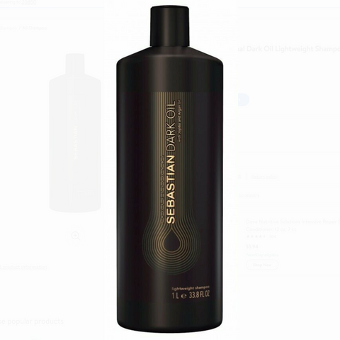 Sebastian Dark Oil Lightweight Shampoo 33.8 oz / Liter