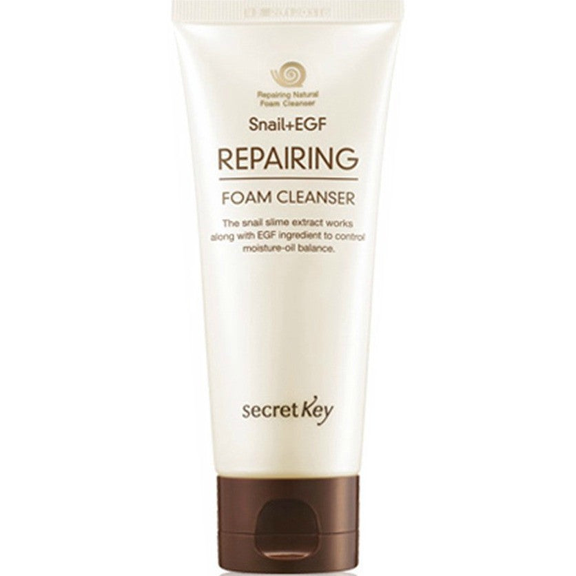 SECRET KEY Snail+EGF Repairing Foam Cleanser 100ml