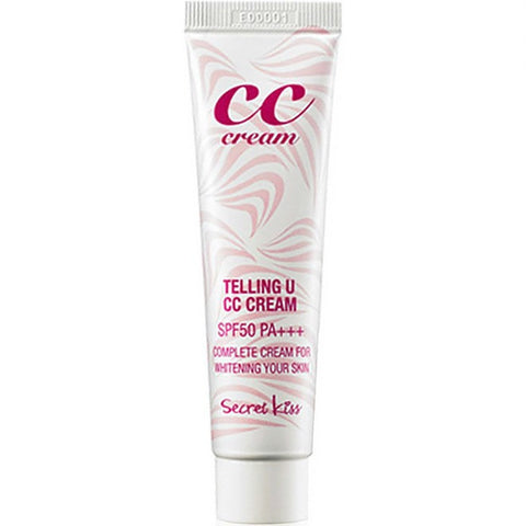 SECRET KISS Telling U CC Cream [SPF 50/ PA+++] 30ml