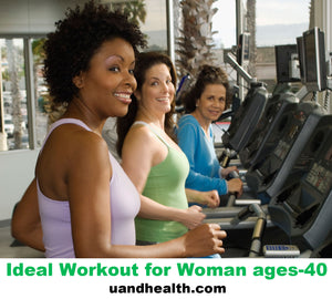 The Ideal Workout For Women ages-40 with a Low Metabolism