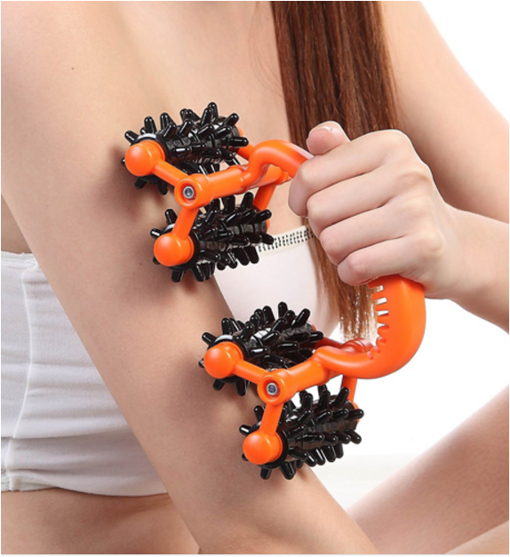 Body Slimming Massage Roller Fat Burning Weight Loss Massager Beauty Arm Leg Hips Shapping Roller Slimming Device