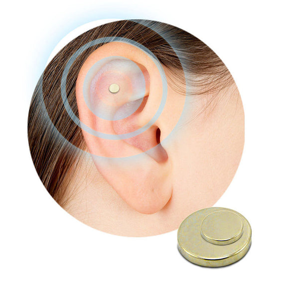 2pcs Auricular Quit Smoking Magnet | Zerosmoke ACUPRESSURE Patch Not Cigarettes Health Therapy