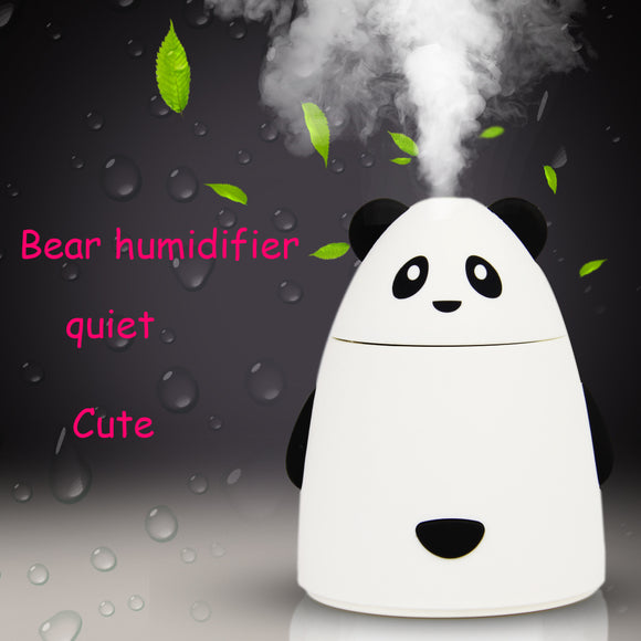 80ML Cute bear Ultrasonic Air Aroma Humidifier | DIY Aromatherapy Essential Oil Aroma Diffuser