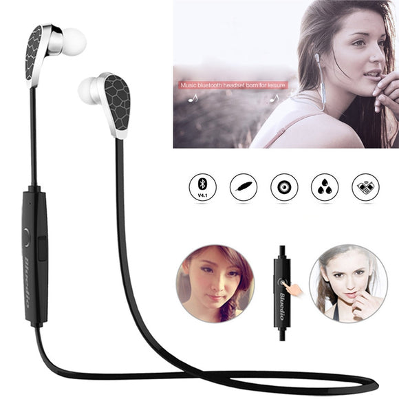 Bluetooth V4.1 Wireless Sports Earphone Set