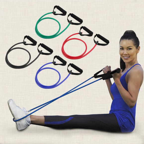 Yoga Pilates Fitness Resistance Rope Tube (FREE plus Shipping)