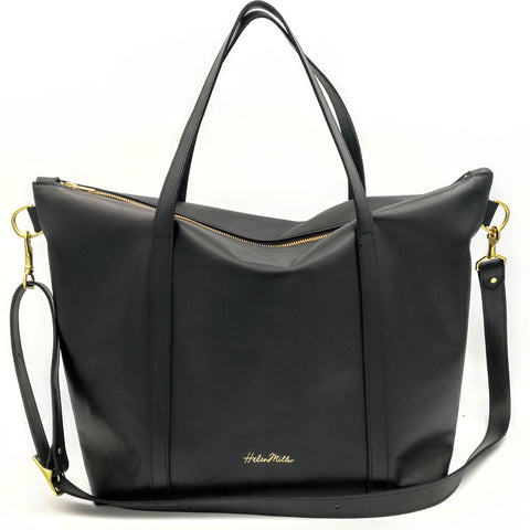 Zip Top Tote Bag