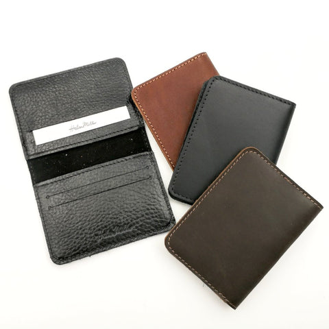Flip card wallet - READY TO SHIP