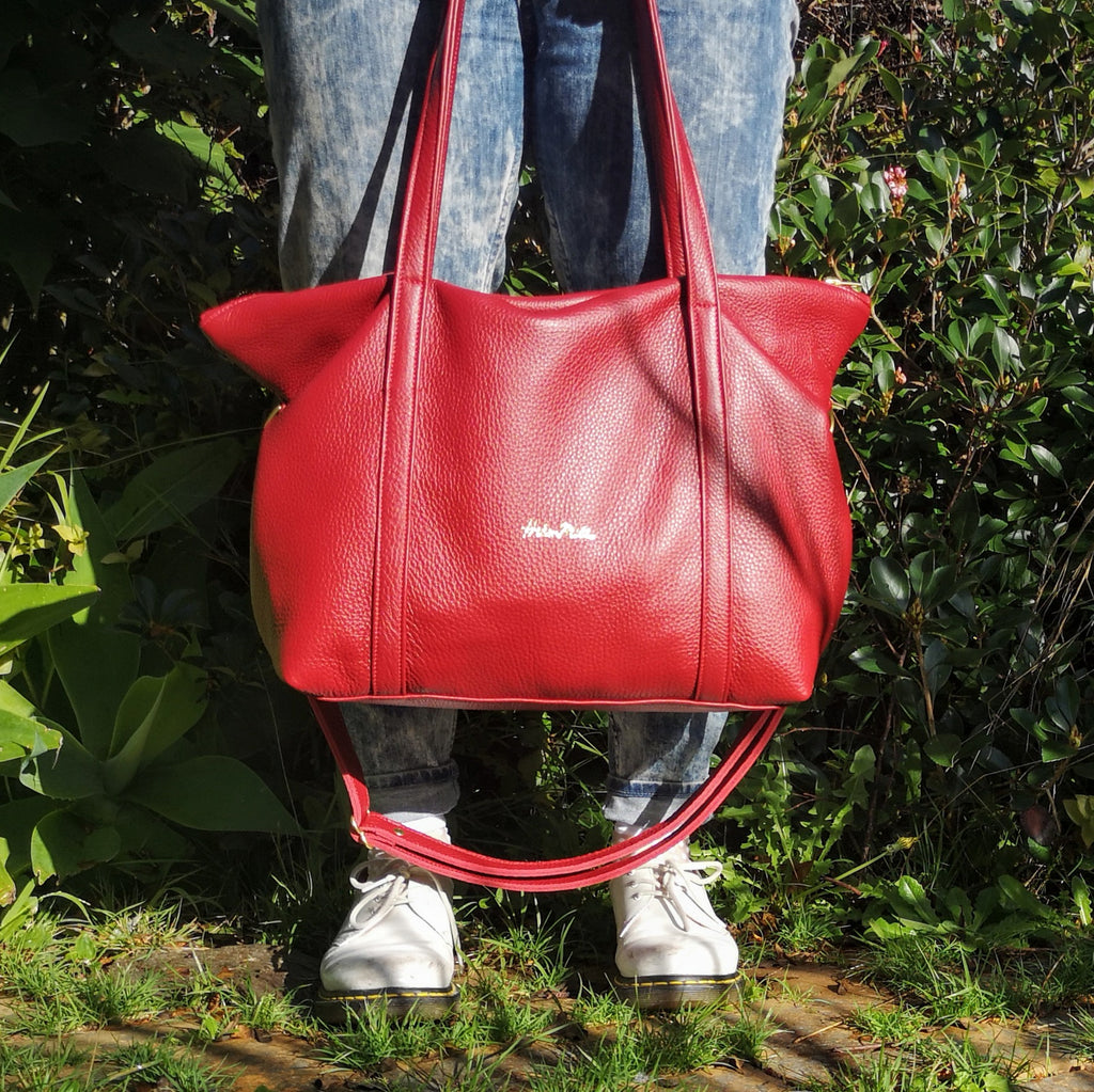 Zip Top Tote  - 10 colour options