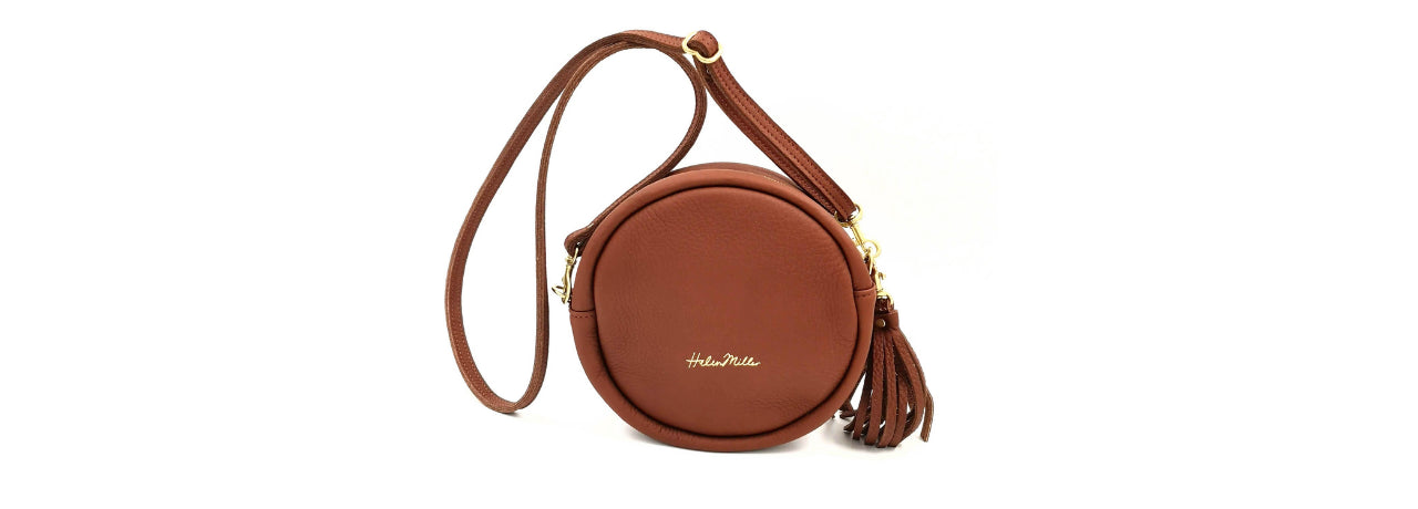 Helen Miller leather bags