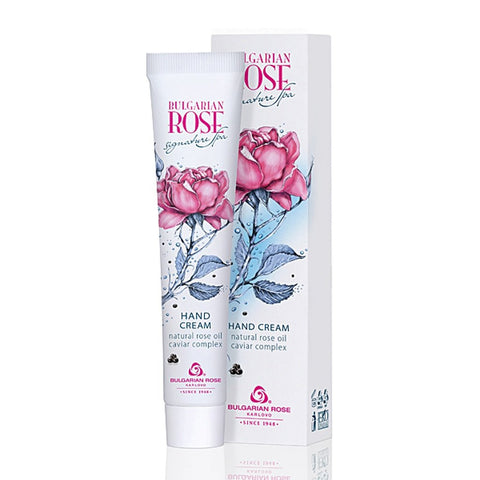Hand Cream Natural Rose Oil Caviar Complex