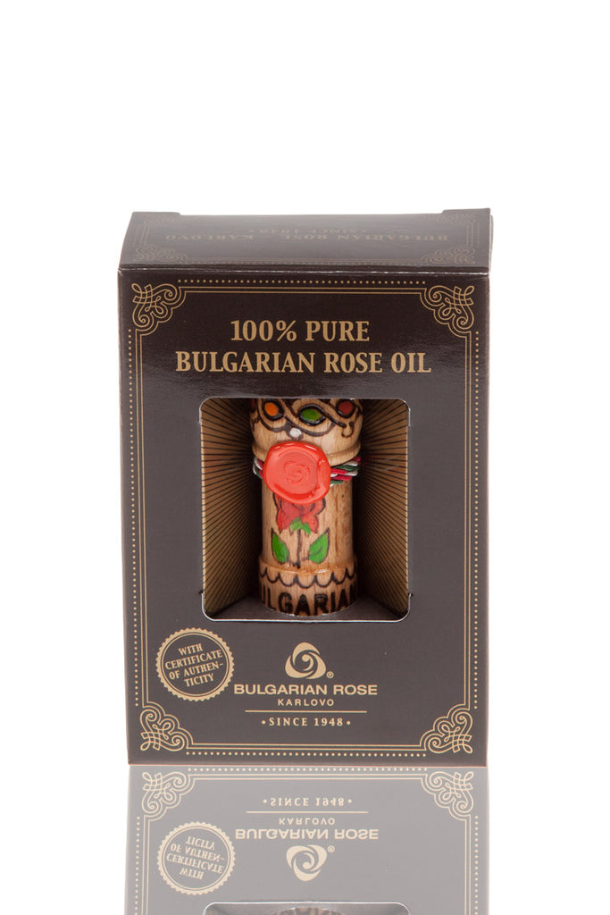 100% Pure Essential Rose Oil Otto Bulgarian Rose Damascena