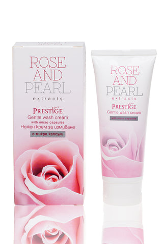 Gentle Rose Face Wash with Micro Capsules