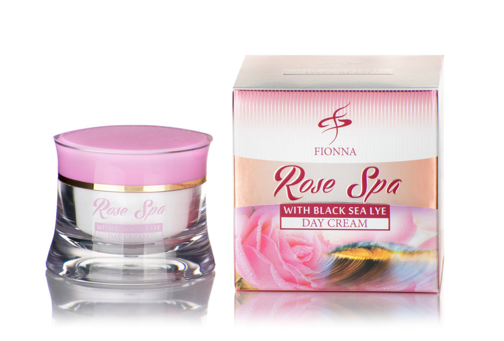 Rose Spa Day Cream with Rose Oil Black Sea Lye 50 ml 1.7 oz