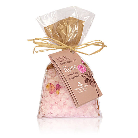 Rose Oil Bath Salts
