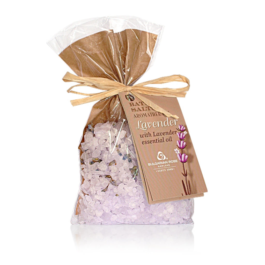 Lavender Oil Bath Salts
