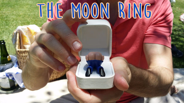 The moon ring being given
