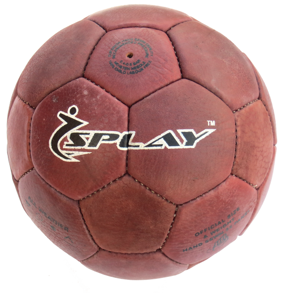 Buff Leather Playing Ball