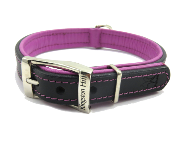 The Kingston Collection Collar (Cerise Pink) - DoggyHQ